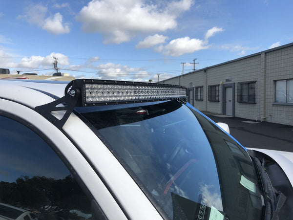 "52"" CURVED LED LIGHT BAR ROOF COMBO - Toyota Tacoma 2005-2020 - 4x4 Runners"