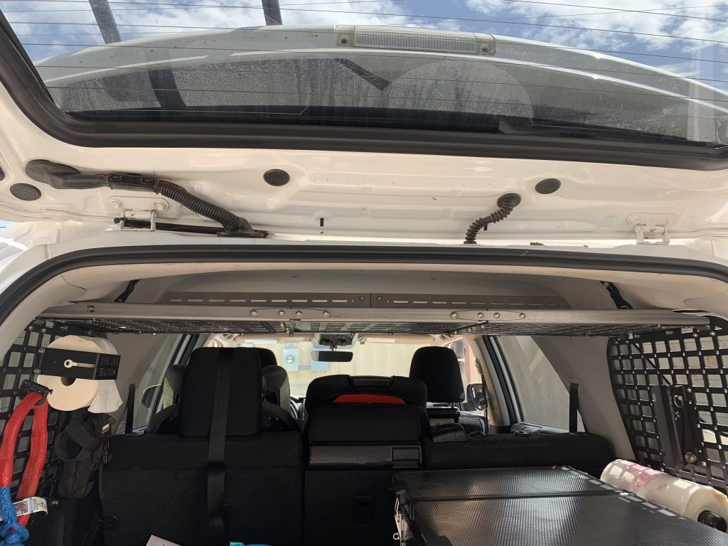 2010-2019 4RUNNER  MODULAR STORAGE PANEL SHELF - 4x4 Runners