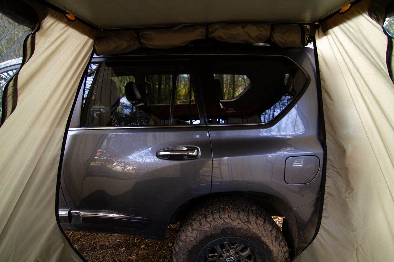 Iron Man - ROOFTOP TENT AND ANNEX COMBO - 4x4 Runners