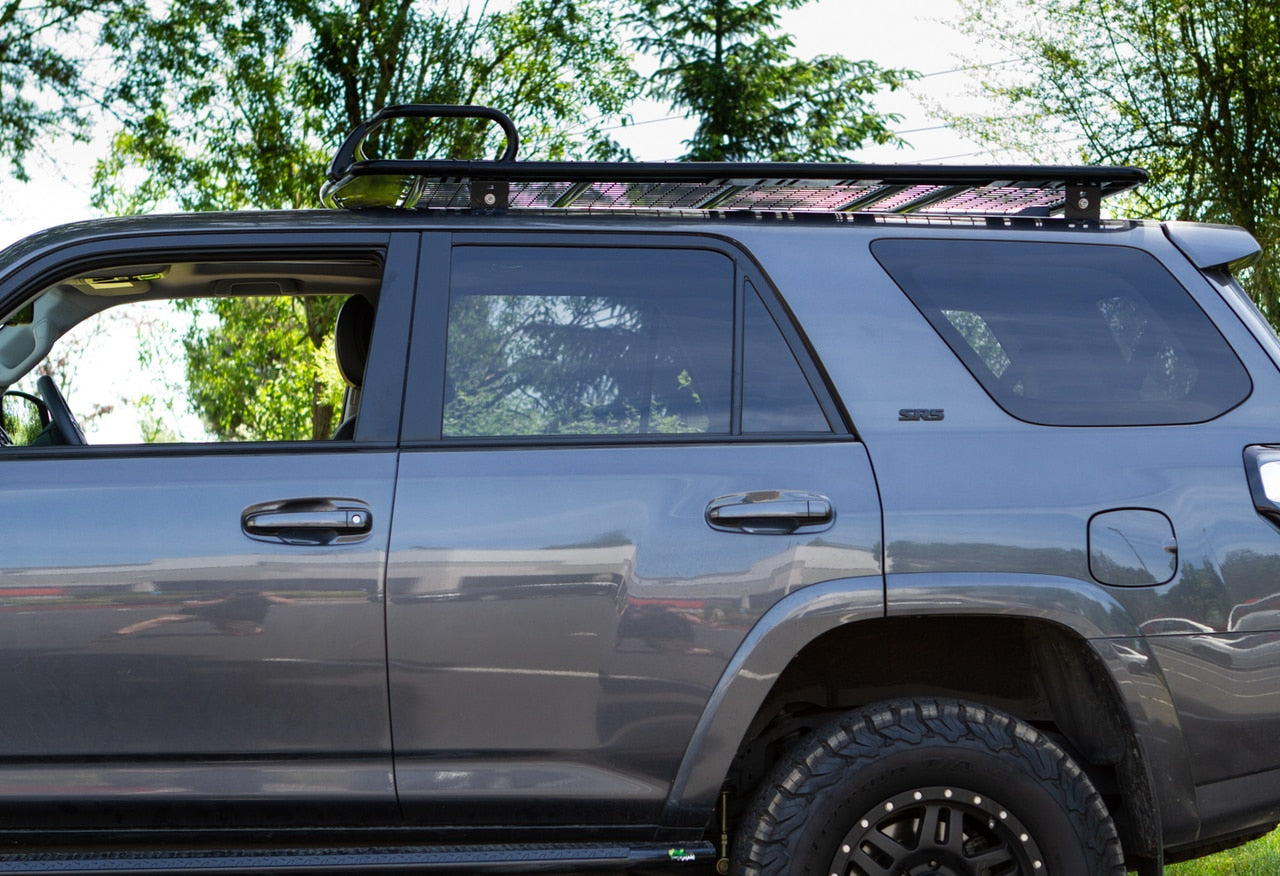 IronMan -HYBRID FLAT TOP ROOF RACK 6' LENGHT -TOYOTA 4RUNNER 5th GEN -2010-2020 - 4x4 Runners