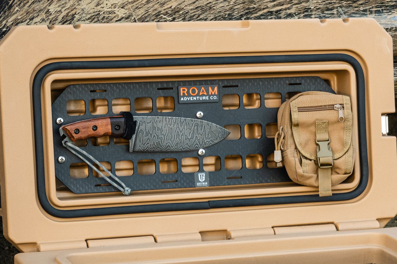 ROAM - RUGGED CASE MOLLE PANEL - 4x4 Runners