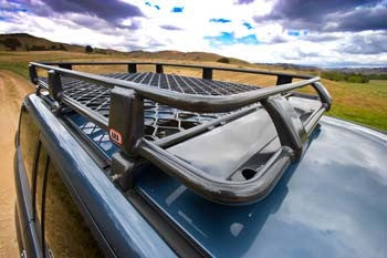 ARB Alloy Roof Rack Basket 70 x 44 Inch - 4x4 Runners