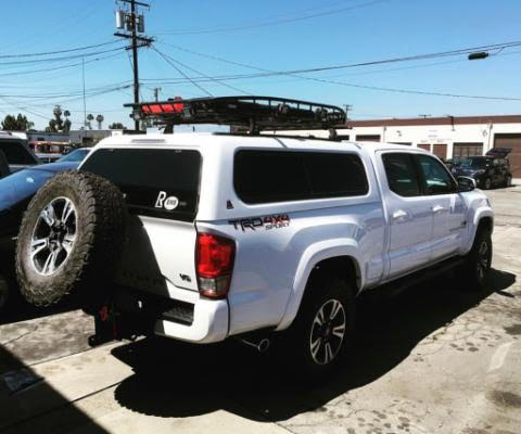 Tire Hitch Carriers - Toyota Tacoma 2000-2020 - 4x4 Runners