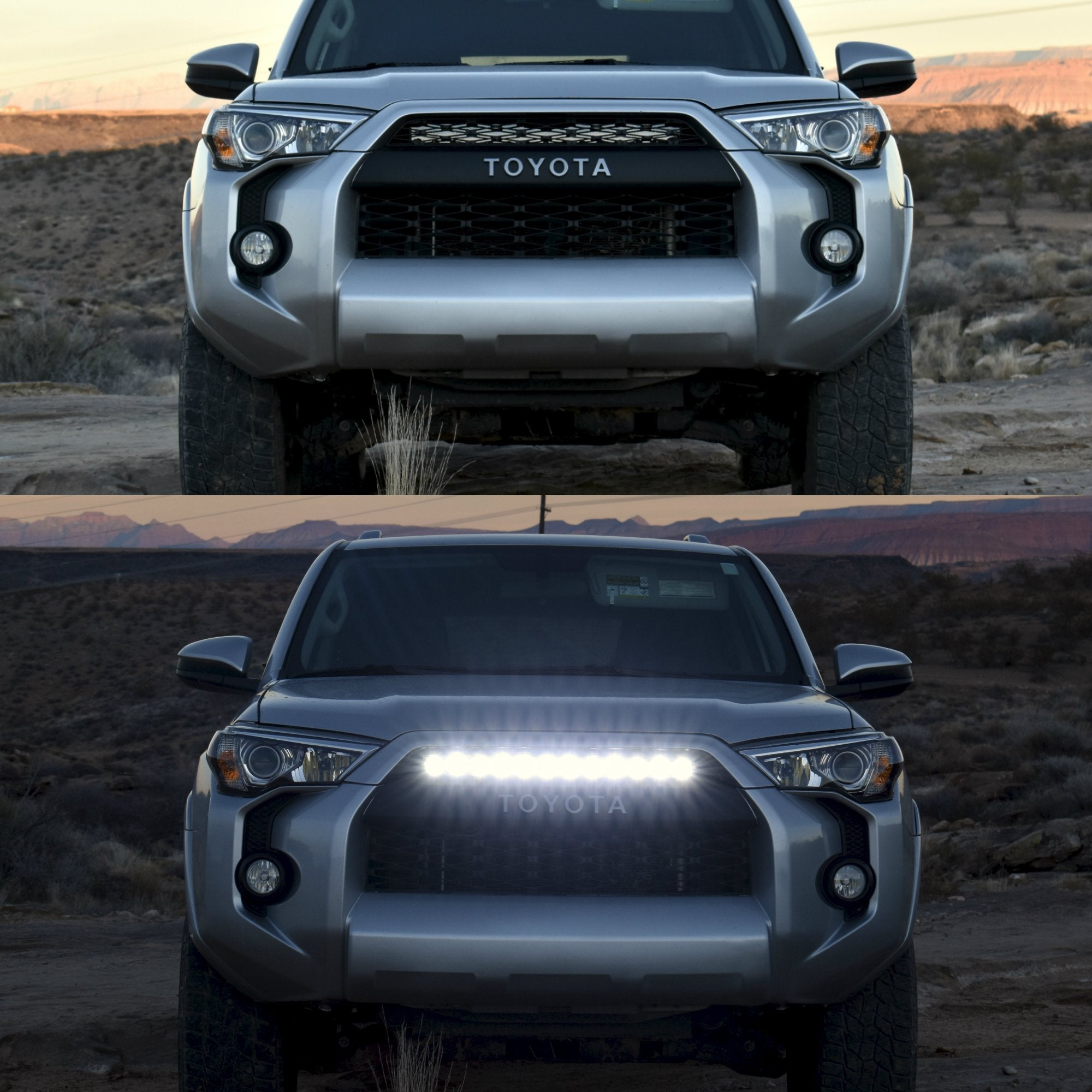 DRZ Stealth LED Grille Light Bar - 4x4 Runners