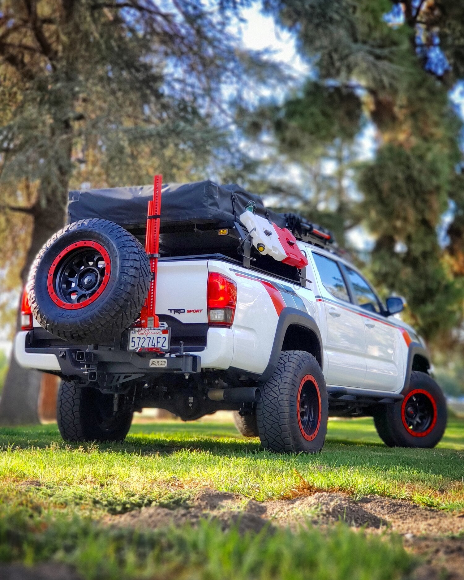 Rigid Armor - Hybrid Swing Out - Toyota Tacoma 2005-2020 - 4x4 Runners