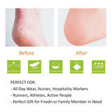4pcs Plantar Fasciitis Heel Cushion Foot Sleeves Silicone Heel Protectors