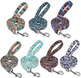 200cm Long Durable Bohemian Printed Dog Leash for Small Medium Large Dogs