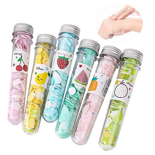 Portable Disposable Paper Soap Confetti Washing Hand