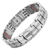 591 Elements 4-IN-1 Anion Titanium Magnetic Therapy Health Bracelet