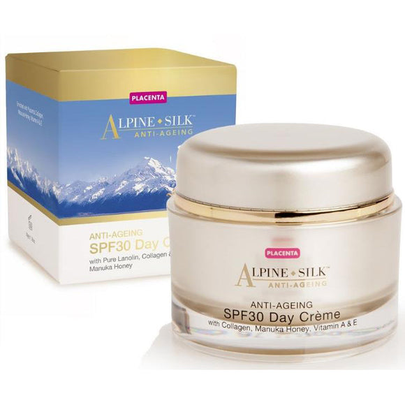 Alpine Silk Anti-Aging SPF30 Day Creme 50g