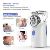 Portable Inhaler Household Humidifier Ultrasonic Nebulizer for Adults and Kids