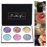 Beauty Glazed 6 Color Glitter Diamond Sequins Eyeshadow Palette