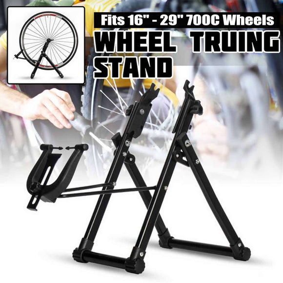 Bike Wheel Truing Stand Home Mechanic Truing Stand Bicycle Wheel Maintenance Repair Tool for 16 Inch - 29 Inch Wheel