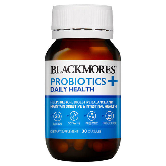 Blackmores Probiotics+ Daily Health 30 capsules
