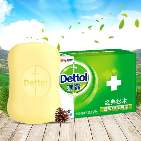 Dettol Anti-Bacterial Hand and Body Bar Soap 115g - Original