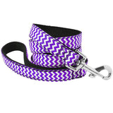120cm Durable Wave Pattern Dog Leash for Small Medium Large Dogs