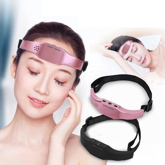 Electric Head Massager Sleep Monitor Migraine Relief