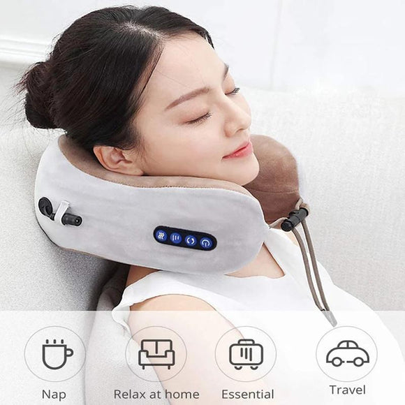 Electric Neck Massager U Shaped Pillow