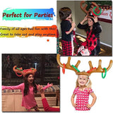 Inflatable Reindeer Antler Ring Toss Game for Xmas Party