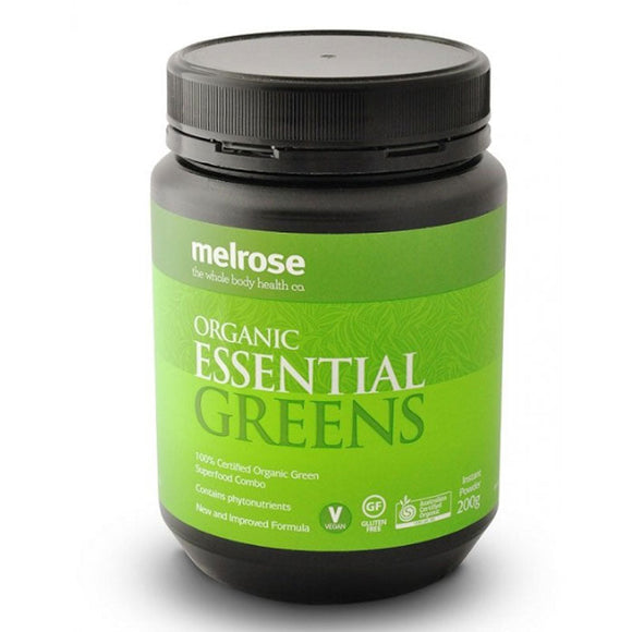 Melrose Organic Essential Greens Powder 200g