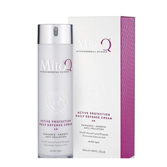 MitoQ Active Protection Daily Defense Cream 50ml
