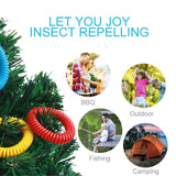 Mosquito Repellent Spiral Wristbands for Kids Adults & Pets
