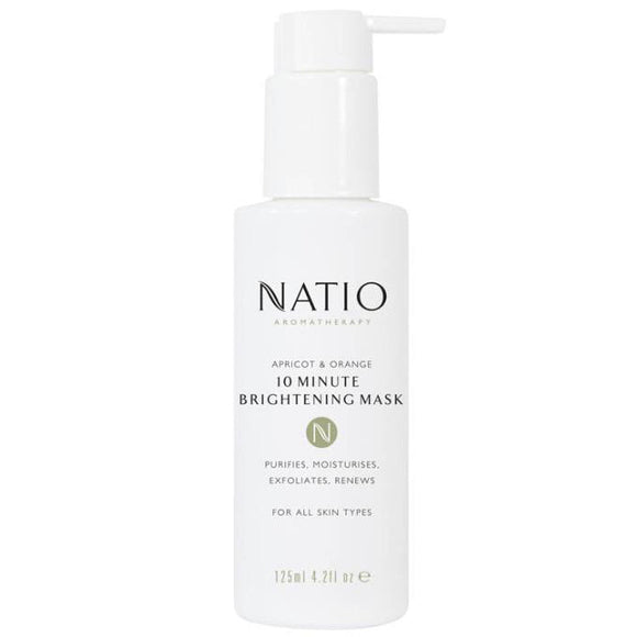 Natio Apricot & Orange 10 Minute Brightening Mask 125ml