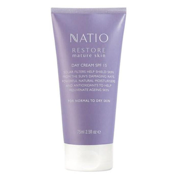 Natio Restore Mature Skin Day Cream SPF 15 75ml