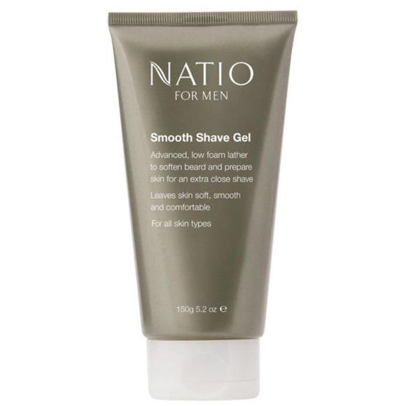 Natio Smooth Shave Gel for Men 150g