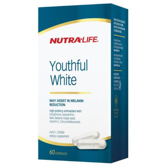 Nutra-Life Youthful White - 60 Capsules