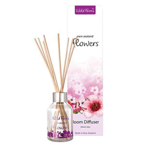 Parrs Wild Ferns New Zealand Flowers Room Diffuser 100ml