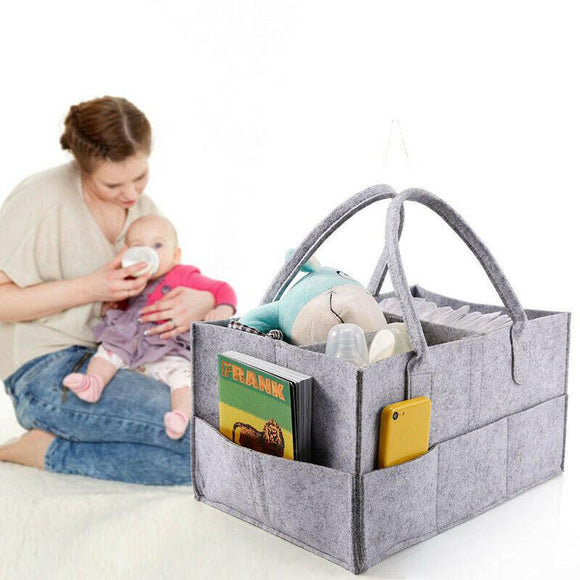 Multi-function Toy Storage Pouch Tote Diaper Mommy Bag
