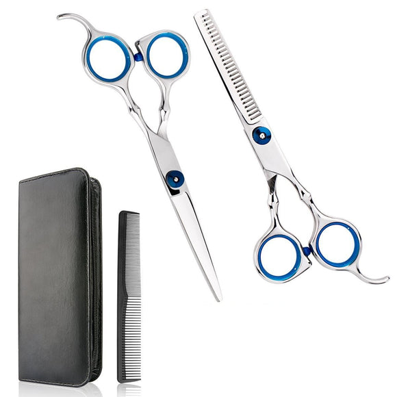 Professional Home Hair Cutting Scissors Kit for Men and Women
