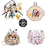 Quick Drawstring Cosmetic Bag Travel Luggage Organizer
