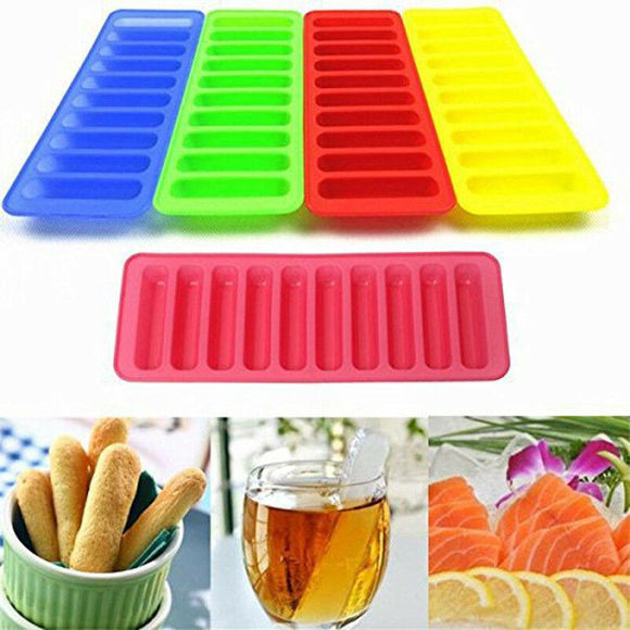 2pcs Silicone Tray Mold Water Bottle Cake Mould Tool