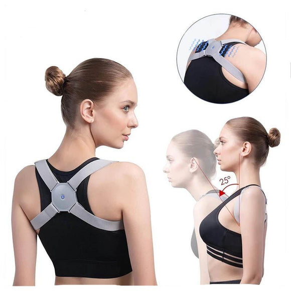 Smart Vibration Reminder Back Support Belt Orthopedic Posture Corrector Brace
