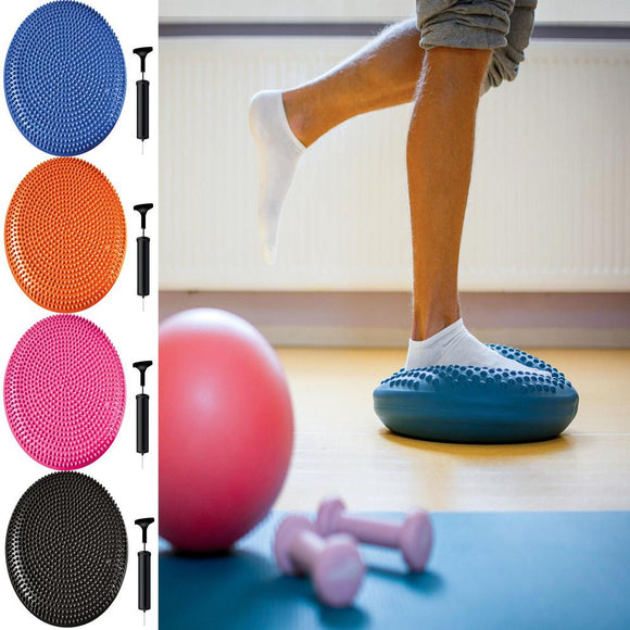 Stability Balance Disc Fitness Core Trainer Wiggle Pad