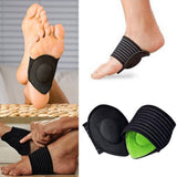 2 Pairs Cushioned Arch Foot Support Decrease Plantar Fasciitis Pain