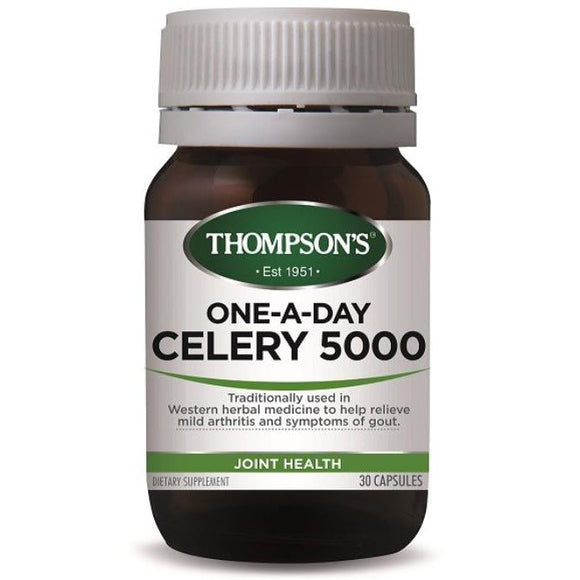 Thompson's One-A-Day Celery 5000mg - 30 Capsules