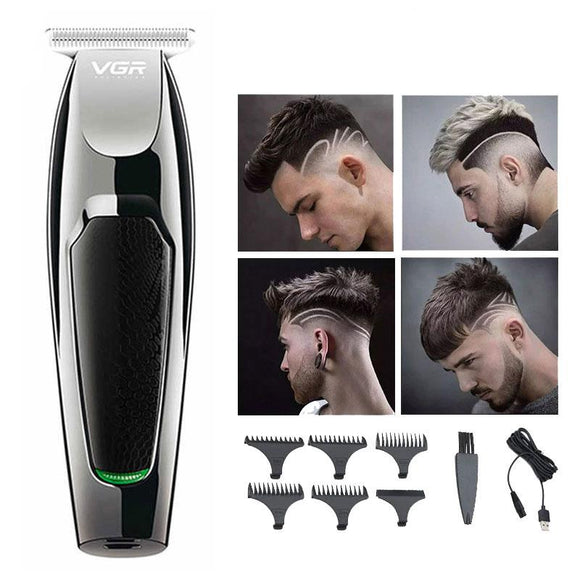 VGR Professional Hair Cutting Trimmer Clipper Grooming Kit