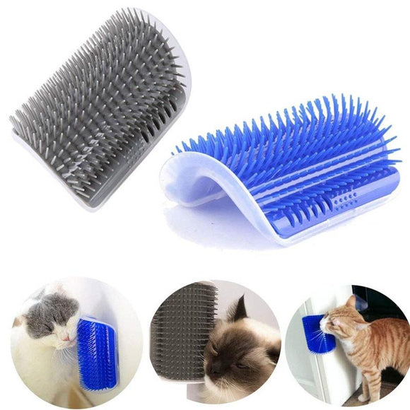 2pcs Pet Cat Self Groomer Hair Removal Brush Comb