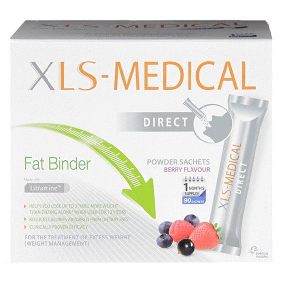 XLS Medical XL-S Medical - Berry Flavour Fat Binder 90 Sachets