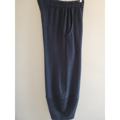 Kekoo blue with black stripe pants - Shop Jezebel's
