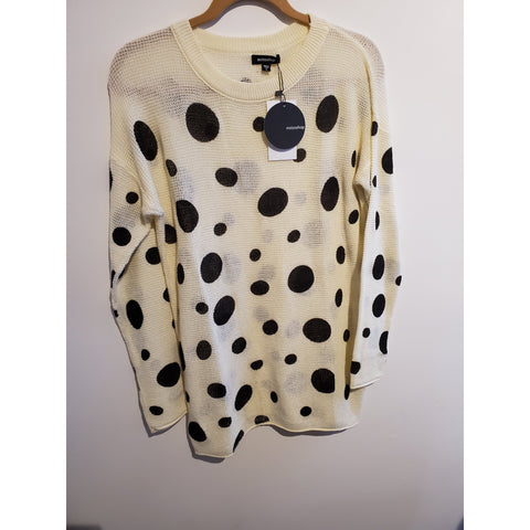 Polka Dot Sweater - Shop Jezebel's