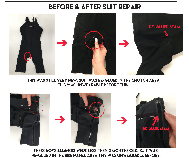SLIX REPAIR MY SWIMMING RACE SUIT SERVICE