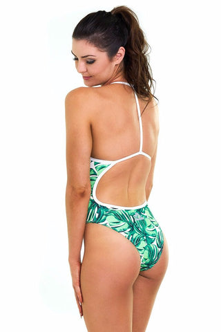 Jungle Juice Hybrid One Piece - Slix Australia,  Training Swimwear, Girls Swimwear, Chlorine Resistant, Training Bikini, Swimming, Slix, Slix swimwear, training swimwear, swimming costume, chlorine resistant swimwear, Australian made swimwear