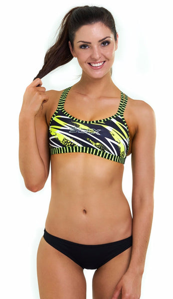 Flash X-Factor Double Take Top  Bikini Separates - Slix Australia Swimwear