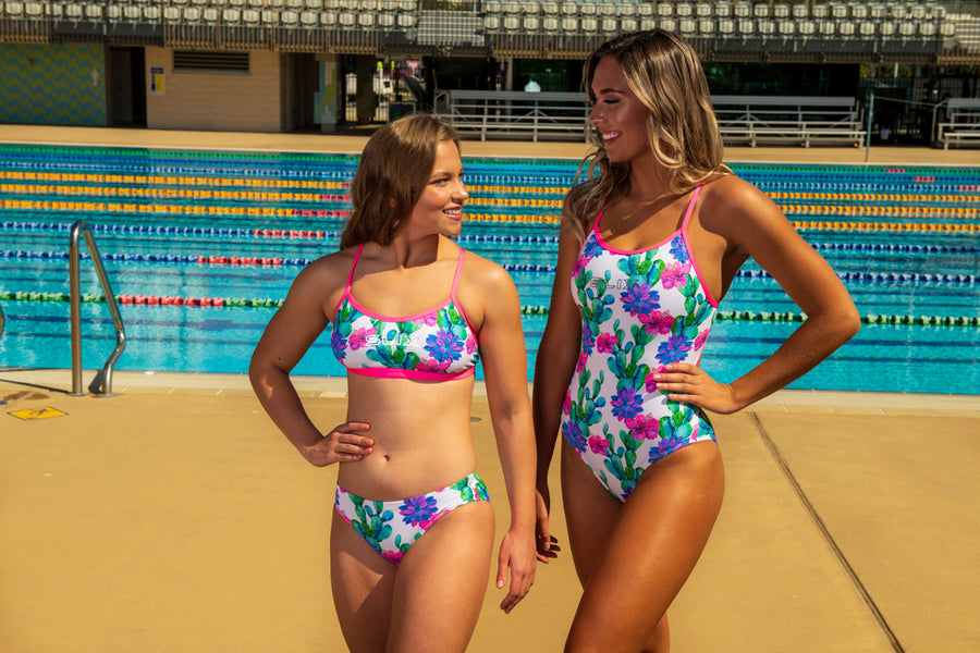 SLIX Desert Dusk Double Take Training Bikini