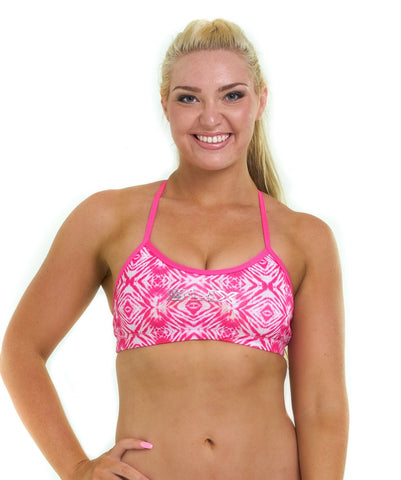 Pink-ing of U Training Bikini top  Bikini Separates - Slix Australia Swimwear