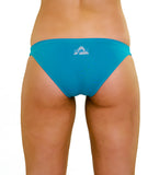 Teal Miami Brief - Slix Australia,  Training Swimwear, Girls Swimwear, Chlorine Resistant, Training Bikini, Swimming, Slix, Slix swimwear, training swimwear, swimming costume, chlorine resistant swimwear, Australian made swimwear